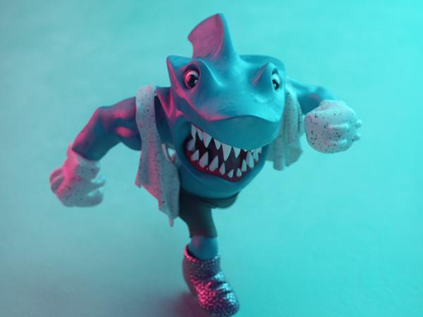 Street Shark Toy Animation